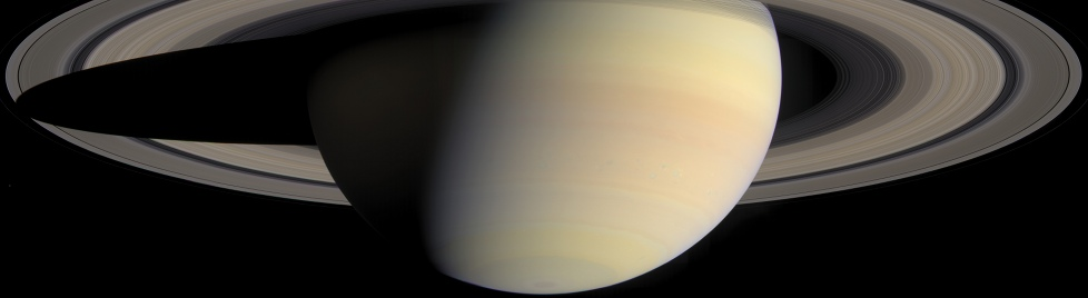 Saturn photo from the Cassini mission
